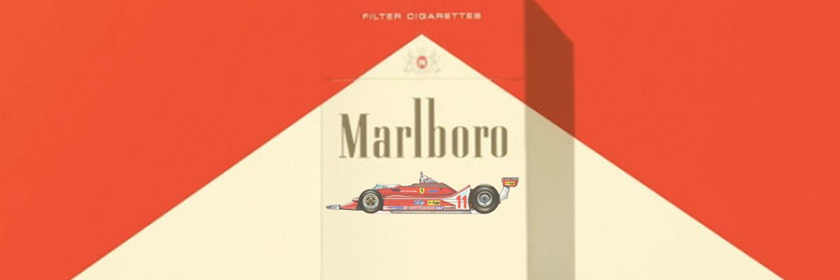 Marlboro e Ferrari: <br />quando una bionda manda in corto il Circuito.